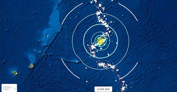 Earthquake from Mauritius: Nothing to tremble