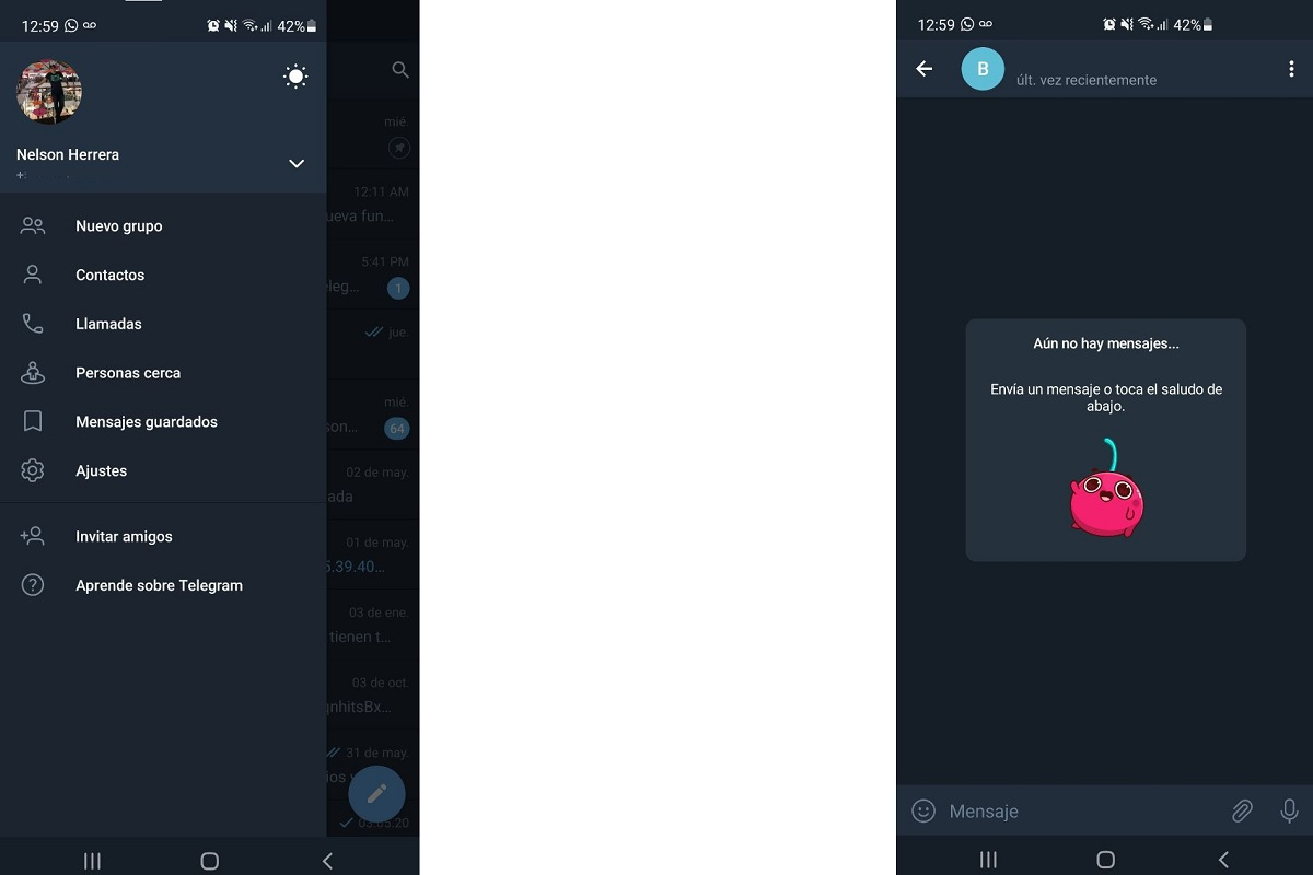 Dark chat telegram