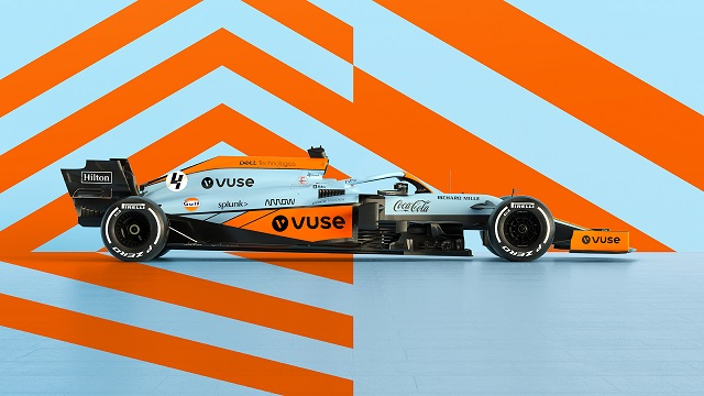 McLaren is revamping the famous Gulf supply in Monaco