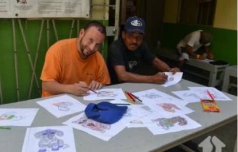 United States / Mexico - Scholabrians launch education center for refugees and immigrants in Tijuana
