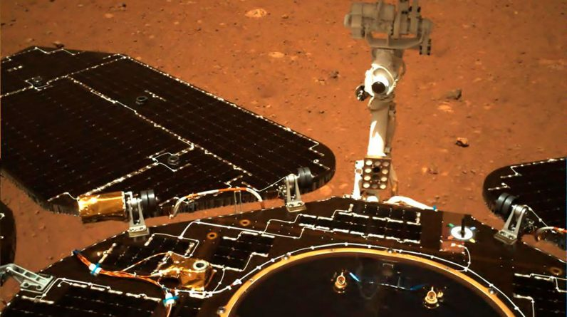 Historical Chinese ride on Mars - VG