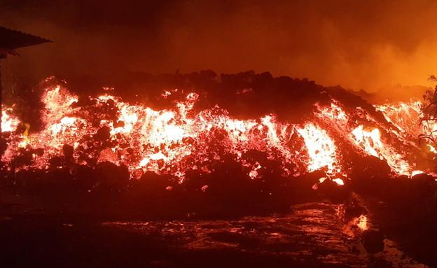 Congo volcanic eruption (Photo: Reuters)