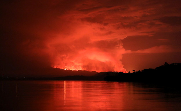 A volcano erupted in the Congo, killing hundreds of thousands