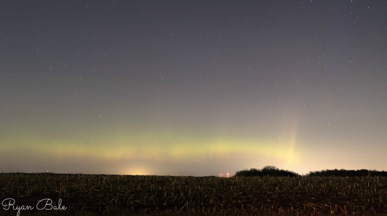 Aurora borealis may appear Wednesday in western Michigan