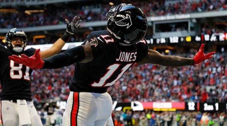 [Top 50] # 39: Julio Jones, Locomotive    Touchdown Act (NFL Act)