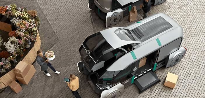 Renault EZ-PRO autonomous car concept