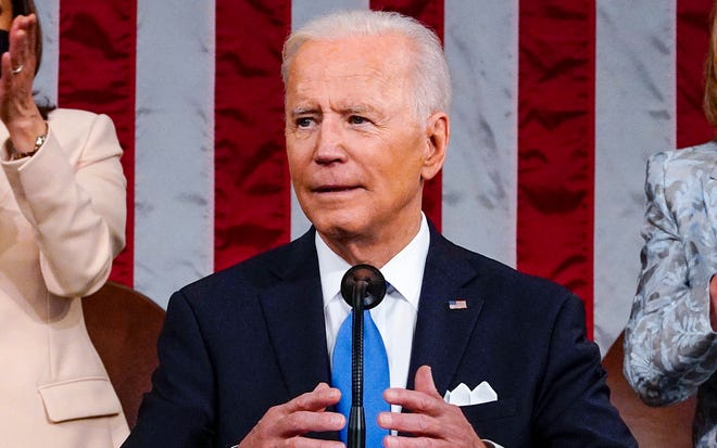 55 Large U.S.  President Biden cited a study that found companies did not pay federal taxes