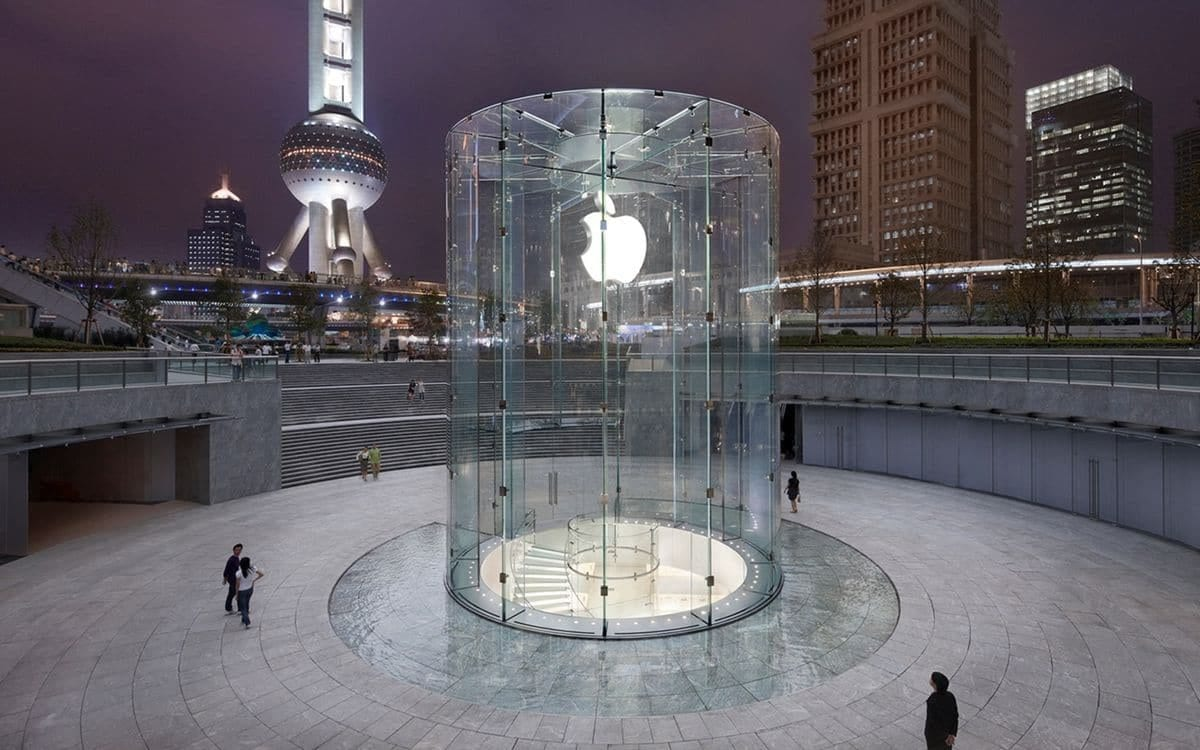 Apple China joins Americans