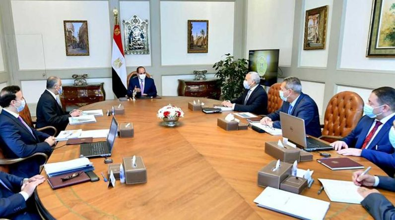 Al-Sisi advises to support all pillars of the cyber security system for the financial sector