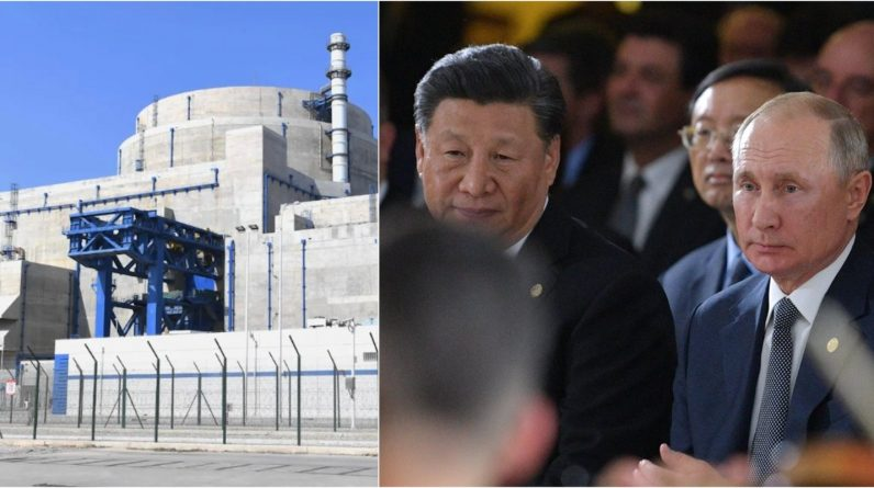 China and Russia are building nuclear reactors together, and Europe is in a state of despair