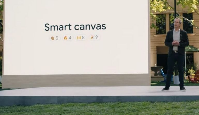 Google I / O 2021: Company Introduces Smart Canvas for Better Workplace Cooperation