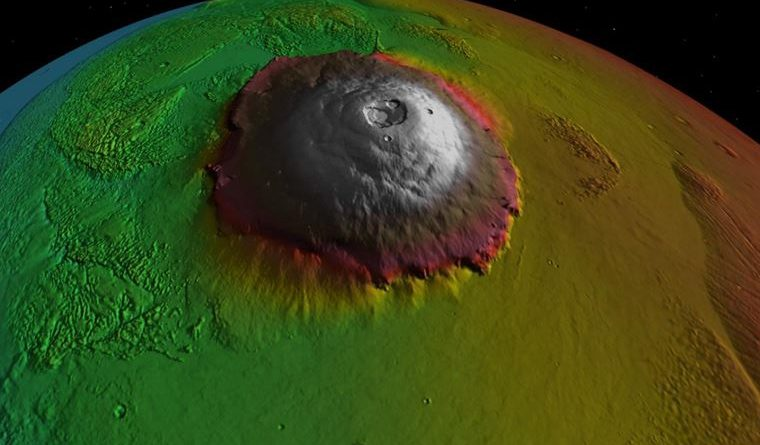 Hope for life on Mars: Volcanoes may be active