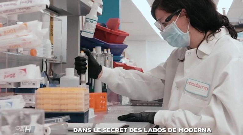 Dans le secret des laboratoires de Moderna