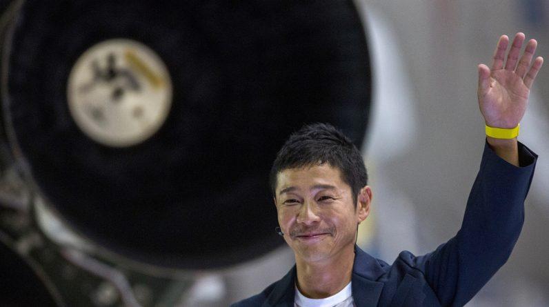 Japanese billionaire Meizawa Yaar, ISS