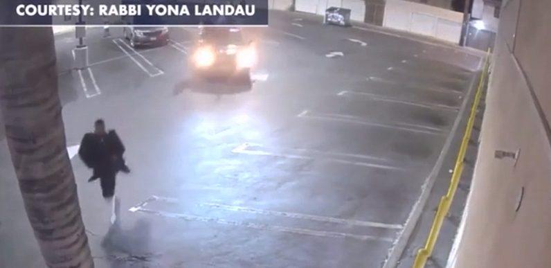 Homme juif poursuivi par CARS agitant des drapeaux palestiniens criant Allahu Akbar.  En Amérique.  Où sont les DEMS?  – Le bon scoop