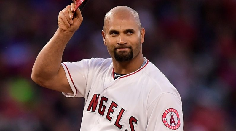 MLP: The Angels have released the powerful 41-year-old hitter Albert Pujols