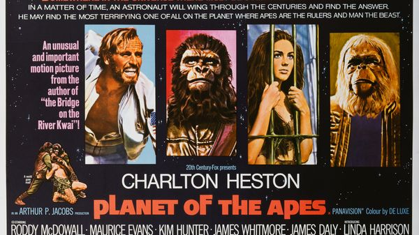 Music from the movie Planet of the Apes