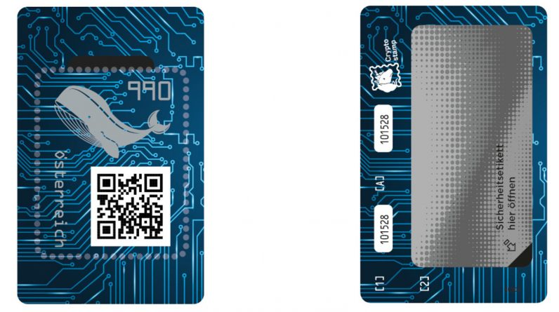 Post comes with Digi stamp with NFC chip and crypto technology