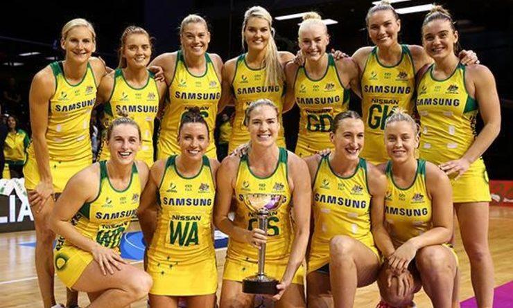 Australie coupe du monde de Netball 2027.
