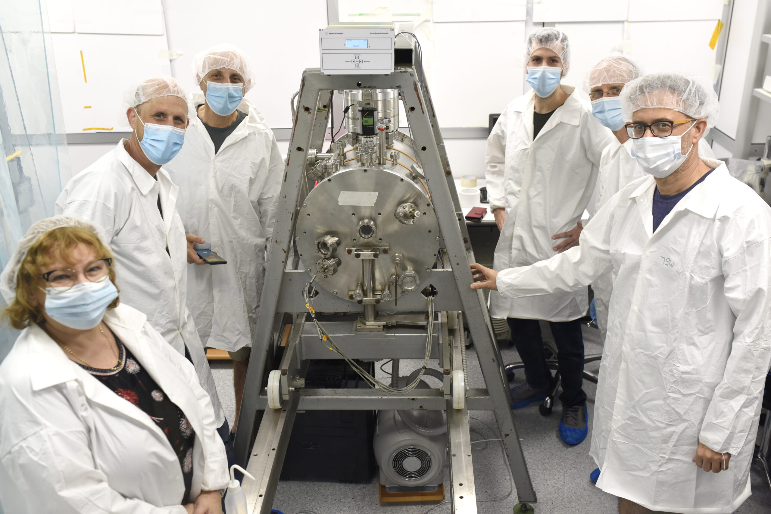 Construction of the TAUSAT-1 satellite.  Tel Aviv University Press