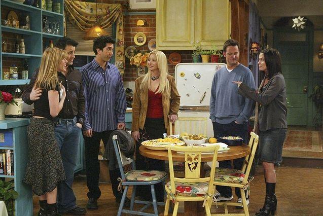 Photo, Courtney Cox, David Swimmer, Matthew Perry, Lisa Kudrow, Matt Leplong, Jennifer Aniston
