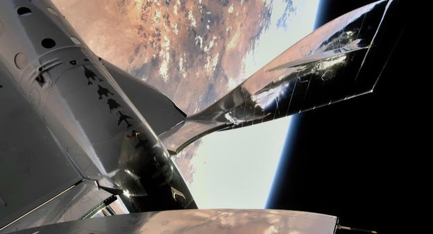 [Vidéo] The Virgin has succeeded in landing a new manned spacecraft on the frontiers of Galactic space