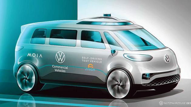 Volkswagen is moving towards autonomous driving