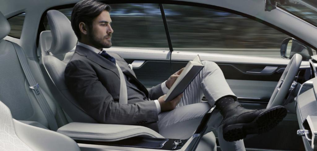 Concept Volvo Autonomous Car 2015