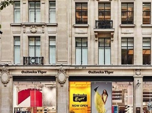 Onitsuka Tiger offers a flagship store in central London
