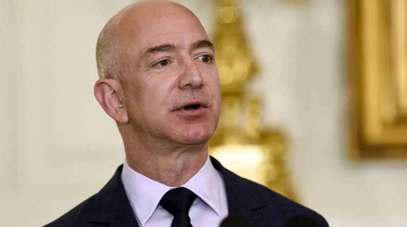 Bezos will be flying in space in June