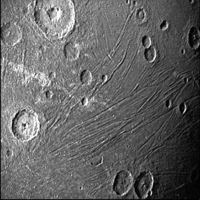 Juno passed over Jupiter's frozen satellite Canmeet on Monday