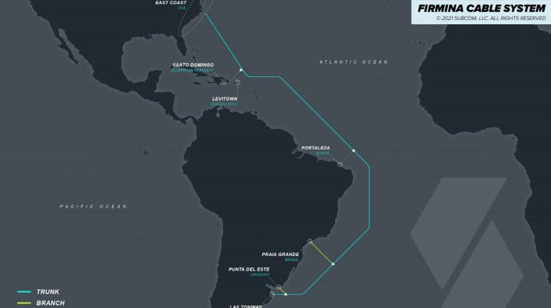 Le nouveau cable sous marin Firmina de Google reliera lAmerique du