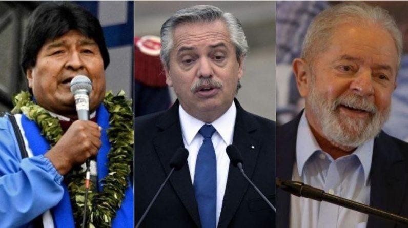 Evo Morales    Alberto Fernandez    Lula da Silva    Point Pedro Castillo    Sao Paulo Forum    Miguel Rodriguez McKay    Politics