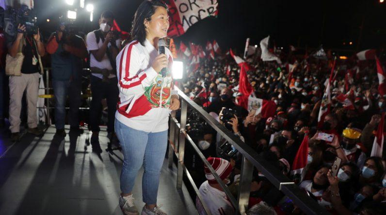 President of Peru |  Fujimori again condemns the fraud