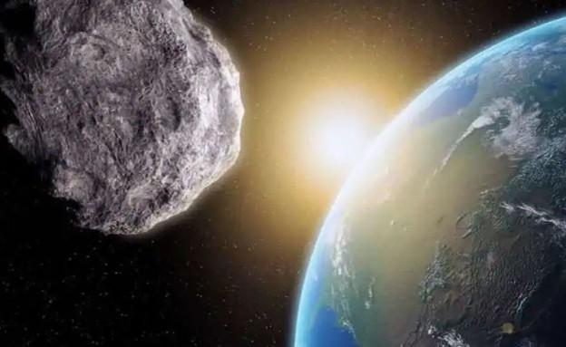אסטרואיד יחלוף היום סמוך לכדור הארץ (צילום: twitter)