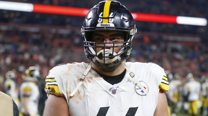Cut by David DiCastro Steelers