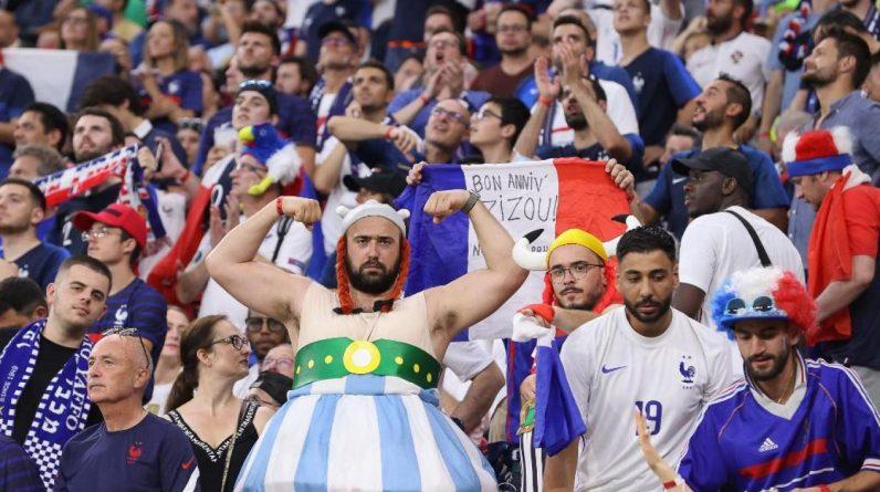 Les supporters français devront faire un choix entre le quart de finale à Saint-Pétersbourg et la demi-finale à Wembley. Photo BERNADETT SZABO / POOL / AFP