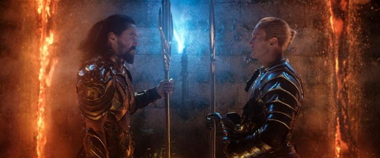 Aquaman face à Orm.