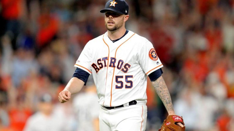 Astros relief path is raging