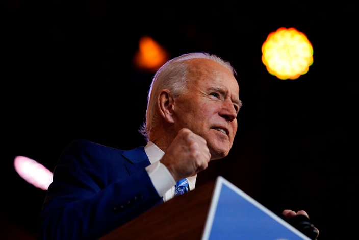 Biden came to power to bring about a new atmosphere of solidarity for Western social interests.  (AP Image)