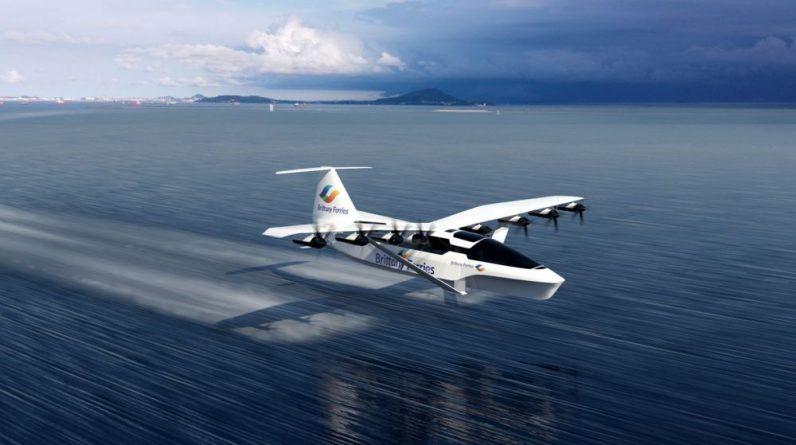 """Brittany Ferries: à quoi va ressembler le """"bateau volant""""?"""