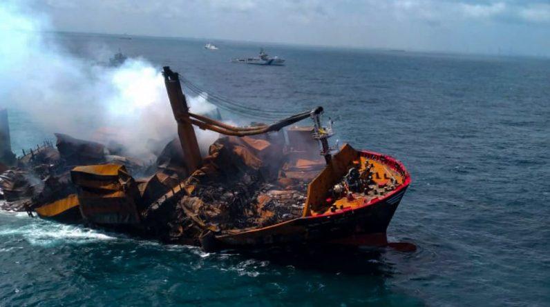 Chemical tanker sinks near Sri Lanka - risk of environmental catastrophe