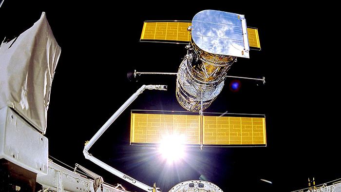 Classic Space Telescope Hubble Offline - After an unknown error