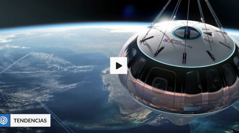 """Company offers space flights on the """"balloon"""": the spacecraft has WiFi and drink menu 