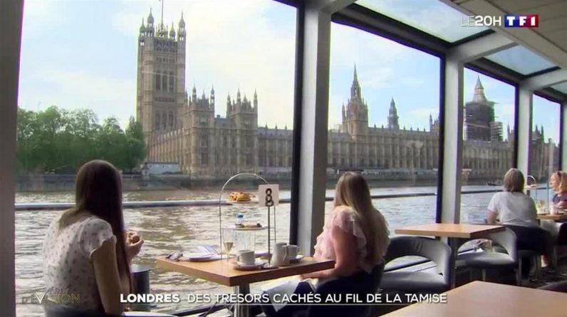 Escape: London walk through the Thames