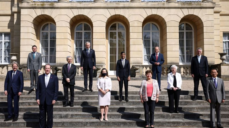 G7 countries agree to impose a minimum of 15 percent tax on global corporate profits