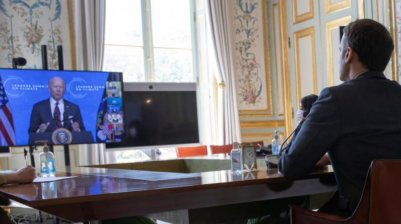 How Joe Biden stole the show from Macron