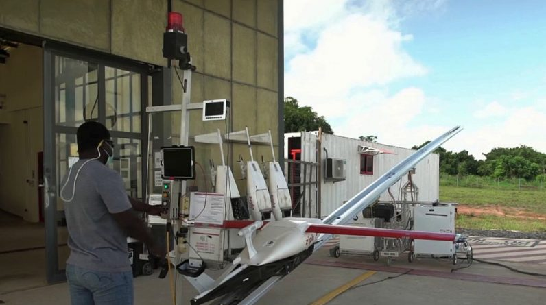 In Ghana, we deliver vaccines by drone