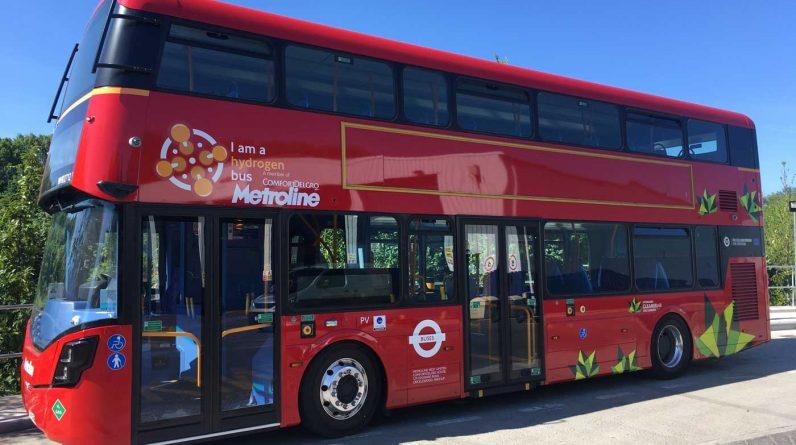 A Londres, ces bus à deux étages carburent à l'hydrogène