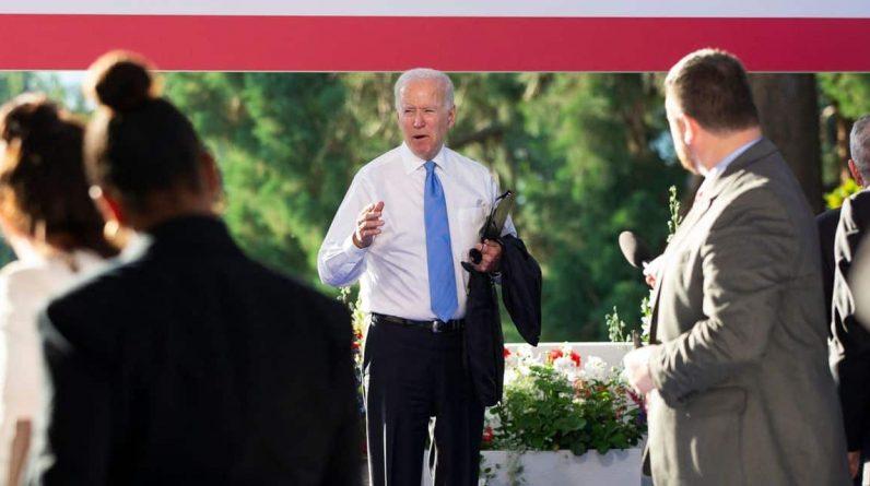 Joe Biden s'excuse après s'être emporté contre une journaliste au sujet de Poutine
